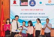Tạo cơ hội đầu ra cho sinh viên Khách sạn - Du lịch