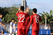 Hiệp 1 trận U22 Việt Nam - U22 Lào: Tiến Linh tỏa sáng, Việt Nam dẫn trước 2 - 0