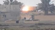 Cận cảnh IS phóng tên lửa chống tăng vào lực lượng Mỹ hậu thuẫn tại Syria