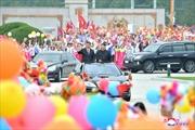 Toàn cảnh chuyến thăm Triều Tiên của Chủ tịch Trung Quốc Tập Cận Bình qua ảnh