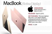 Apple khai tử máy tính MacBook nguyên bản