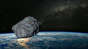 Tiểu hành tinh bay với vận tốc hơn 35.000km/h áp sát Trái Đất