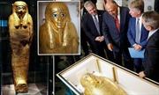 Ai Cập trưng bày quan tài vàng thất lạc lâu năm