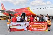 Sẵn sàng mùa cao điểm, Vietjet chào đón thêm tàu bay A321neo ACF hiện đại nhất thế giới