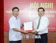 Đồng chí Lê Mạnh Hùng nhận chức Phó Trưởng ban Tuyên giáo Trung ương