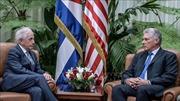 Chủ tịch Cuba Miguel Diaz-Canel tiếp Chủ tịch Ủy ban Đối ngoại Thượng viện Mỹ