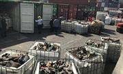 Phát hiện, thu giữ 20 container rác thải công nghiệp nhập khẩu từ Nhật Bản