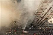 Hỏa hoạn lớn tại tòa nhà 22 tầng, nhiều người mắc kẹt