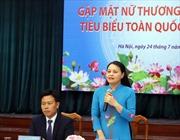 Chủ tịch Hội Phụ nữ Việt Nam gặp mặt nữ thương binh nặng tiêu biểu toàn quốc