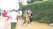 Bình Phước: Lũ lớn nhất trong 10 năm, hàng chục hộ dân Đồng Xoài sơ tán khẩn cấp