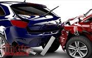 Bốn ô tô con đâm nhau tại giao lộ thành phố Vĩnh Yên