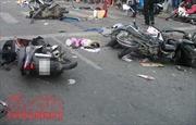 Xử lý hậu quả vụ tai nạn giao thông đặc biệt nghiêm trọng tại Nam Định