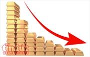 Giá vàng châu Á xuống mức thấp nhất trong 1 tuần