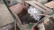 Phát hiện cơ sở tái chế nhựa phế phẩm xả nước thải không qua xử lý ra môi trường