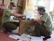 Bắt xetải chở 18.600 bao thuốc lá lậu