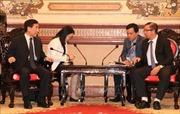 Phát triển quan hệ hữu nghị, hợp tác nhiều mặt giữa Việt Nam - Trung Quốc