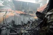 Hàng trăm mét vuông xưởng sản xuất đồ gỗ ở Đồng Nai bị thiêu rụi