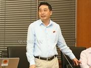 Miễn nhiệm chức Phó Chủ nhiệm UB Quốc phòng an ninh, thôi ĐBQH đối với ông Lê Đình Nhường