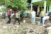 Người dân vùng thiên tai sóng thần tại Indonesia bắt đầu trở về nhà