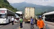 Vụ tai nạn xe khách ở hầm Hải Vân: Còn 4 nạn nhân đang điều trị tại bệnh viện