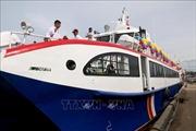 Đưa tàu cao tốc hai thân đầu tiên vào hoạt động tuyến Phan Thiết - Phú Quý