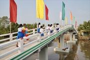 Khánh thành, bàn giao công trình cầu Phú Thạnh A
