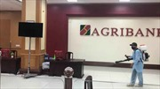 Agribank CN tỉnh Hậu Giang tăng cường các biện pháp phòng ngừa virus COVID-19.