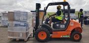 Đội cứu trợ của DHL giúp xử lý gần 800 tấn hàng nhân đạo tại Beira (Mozambique)