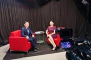 Chủ tịch Viện Nghiên cứu công nghiệp Blockchain châu Á được iSunOne phỏng vấn trực tiếp