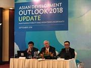 ADB điều chỉnh dự báo tăng trưởng kinh tế và lạm phát năm 2018 của Việt Nam
