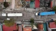 TP Hà Nội 13 năm chưa cải tạo xong tuyến đường dài 650 mét