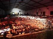 Sập mái nhà thờ tại Nam Phi, 13 người thiệt mạng
