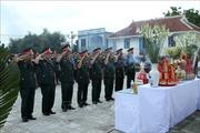 Truy điệu và an táng hài cốt liệt sỹ quân tình nguyện Việt Nam hy sinh tại Lào