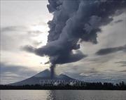 Núi lửa Ulawun ở Papua New Guinea lại phun trào, nhiều người phải sơ tán