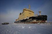 Tàu phá băng Nga phát tín hiệu cấp cứu ngoài khơi Na Uy