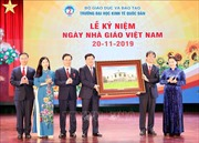Chủ tịch Quốc hội dự Lễ Kỷ niệm Ngày Nhà giáo Việt Nam tại Trường Đại học Kinh tế quốc dân