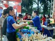 Hà Nội khai mạc Hội chợ hàng hóa nông sản thực phẩm Tết