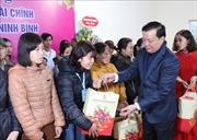 Bộ trưởng Bộ Tài chính Đinh Tiến Dũng thăm và chúc Tết tại Ninh Bình