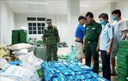 Bắt giữ 2 vụ xuất lậu khẩu trang y tế số lượng lớn sang Campuchia