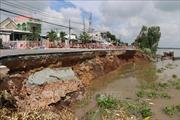 An Giang ban bố tình huống khẩn cấp nguy cơ sạt lở nghiêm trọng trên Quốc lộ 91
