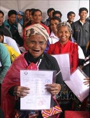Nhập Quốc tịch Việt Nam cho 119 người Lào tại Hướng Hoá, Quảng Trị
