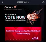Bình chọn Giải thưởng âm nhạc Châu Á