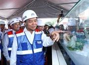 Thủ tướng mong muốn công trình xây dựng metro tại TP Hồ Chí Minh đảm bảo chất lượng, đúng tiến độ