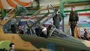 Cận cảnh máy bay chiến đấu cơ thế hệ mới của Iran