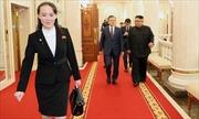 Hình ảnh bóng hồng quyền lực tất bật trợ giúp hai nhà lãnh đạo liên Triều