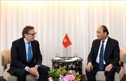 Thủ tướng Nguyễn Xuân Phúc tiếp lãnh đạo các quỹ đầu tư tài chính Hoa Kỳ