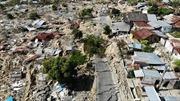 Hình ảnh đất hóa lỏng 'nuốt chửng' gần 1.700 ngôi nhà tại Indonesia