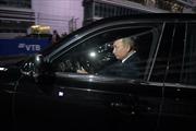 Tổng thống Putin lái siêu xe chở lãnh đạo Ai Cập quanh đường đua Công thức 1