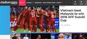Chiến thắng lịch sử của bóng đá Việt Nam 'gây bão' trên báo chí Hàn Quốc, Malaysia