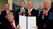 Công nhận Golan của Israel – Bước đi chiến lược để tái đắc cử của Tổng thống Trump
